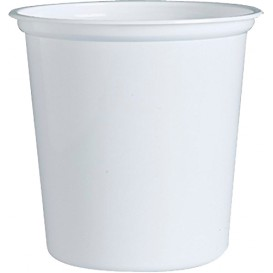 "Envase Plastico PP ""Deli"" 32Oz/960ml Blanco Ø120mm (25 Uds)"