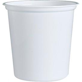 """Envase de Plastico PP """"Deli"""" Blanco 32Oz/960ml Ø127mm (25 Unidades)"""