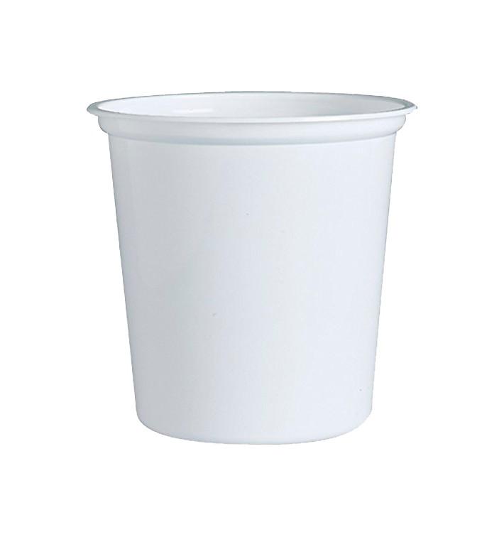 """Envase Plastico PP """"Deli"""" 32Oz/960ml Blanco Ø120mm (500 Uds)"""