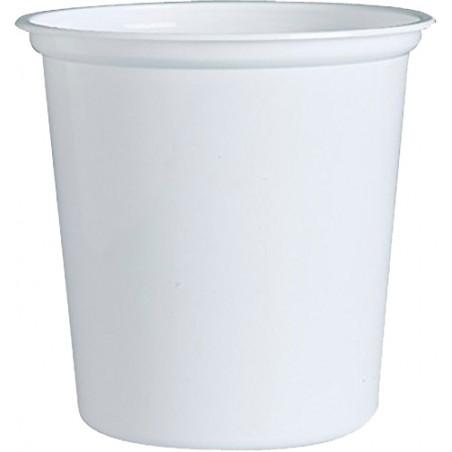 """Envase de Plastico PP """"Deli"""" Blanco 32Oz/960ml Ø127mm (500 Unidades)"""