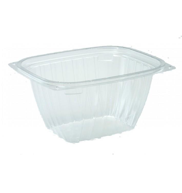 """Envase de Plastico PS """"Clear Pac"""" Transparente 473ml (63 Uds)"""