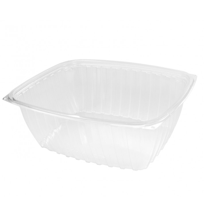 """Envase de Plastico PS """"Clear Pac"""" Transparente 1893ml (63 Uds)"""