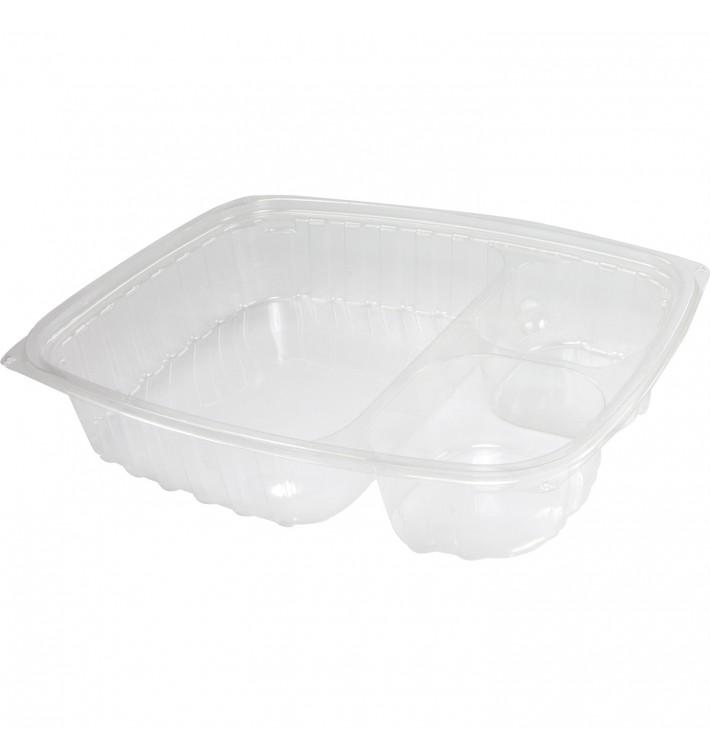 """Envase de Plastico PS """"Clear Pac"""" 3 C. Transp. 887ml (252 Uds)"""