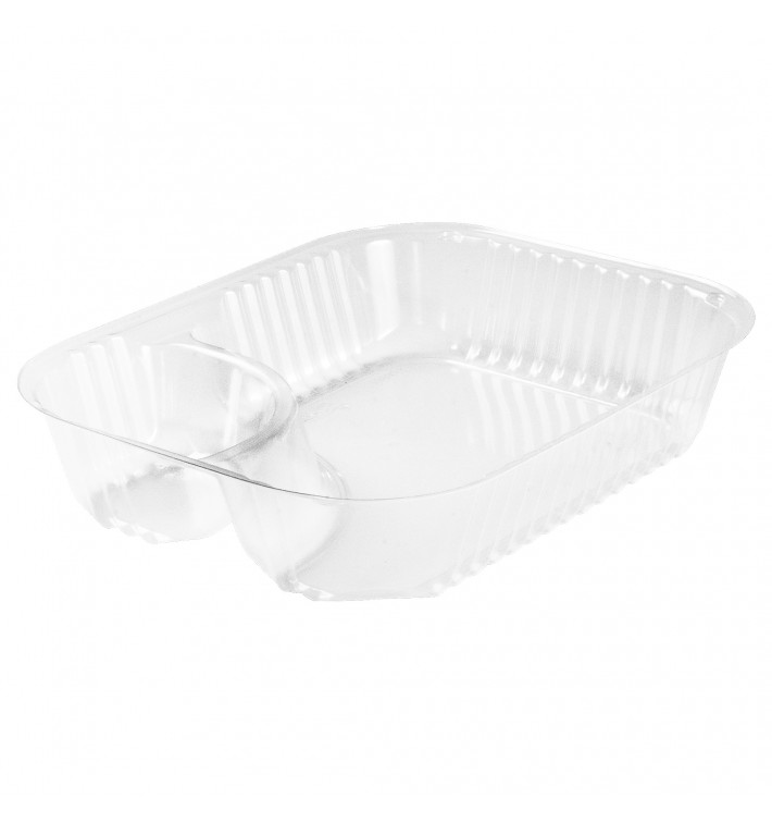Envase de Plastico PS 2 C. Transp. 565ml (125 Uds)