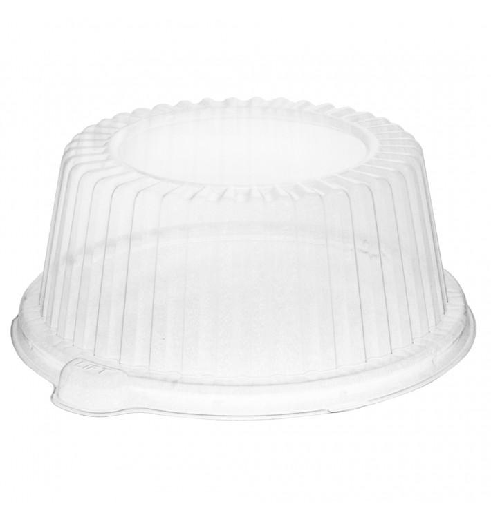 Tapa de Plastico PS Alta Transparente 150x64mm (125 Uds)