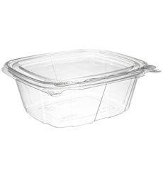 Envase Inviolable de Plástico PET Tapa Plana 355ml (100 Uds)