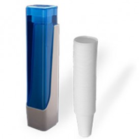 Pack Dispensador Vasos 160, 200 y 220ml + 800 Vasos Blancos