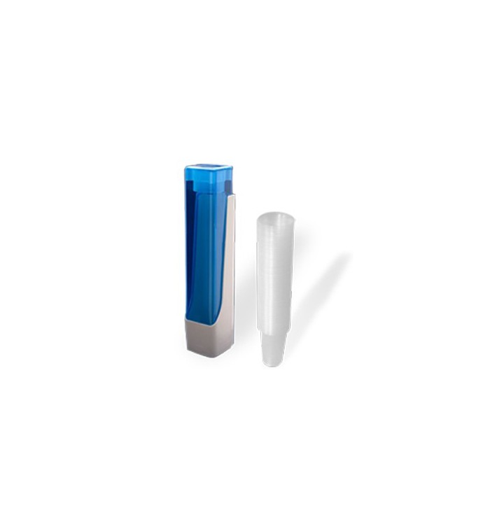 Pack Dispensador Vasos 160, 200 y 220ml + 800 Vasos Transparentes