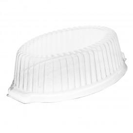 Tapa de Plastico PS Alta Transp. para Cazuela FOAM 180x120x50mm (125 Uds)