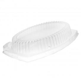 Tapa de Plastico Transparente para Bandeja 230x180mm (500 Uds)