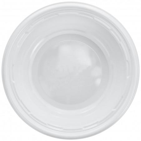 Bol de Plástico PS Blanco 120ml Ø11,5cm (1000 Uds)