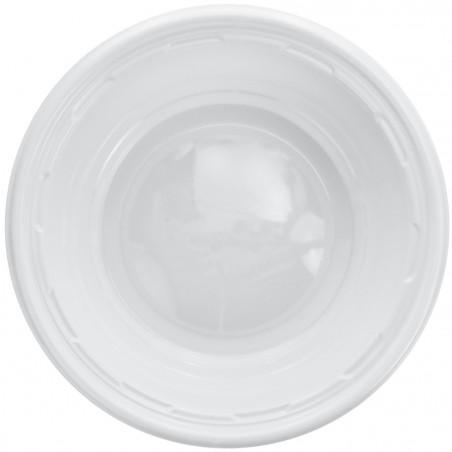 Bol de Plástico PS Blanco 180ml Ø11,5cm (125 Uds)