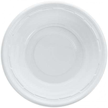 Bol de Plastico PS Blanco 360ml Ø15cm (125 Uds)