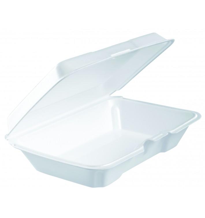 Envase Foam LunchBox Blanco 230x150X65mm (200 Uds)