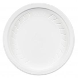 "Tapa de Plastico PP ""Deli"" Blanco Ø120mm (50 Uds)"