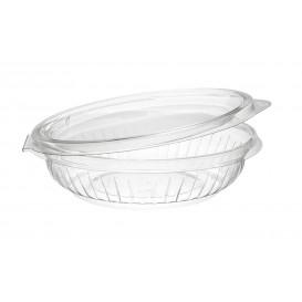 "Bol de Plastico PET ""Presenta"" Tapa Plana Transp. 240ml Ø150mm (300 Uds)"
