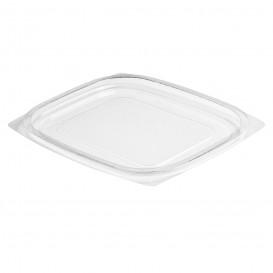 Tapa de Plastico PS Plana Transp. para Envase 237/355/473ml (63 Uds)