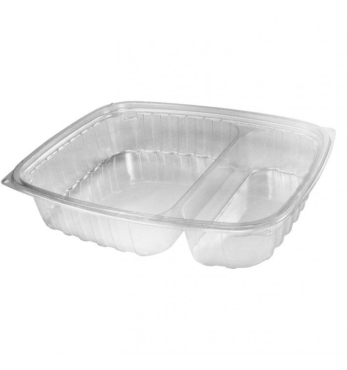 "Envase de Plastico PS ""Clear Pac"" Transparente 887ml (63 Uds)"