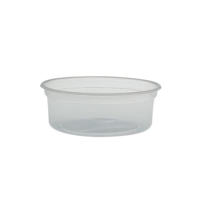 "Envase Plastico PP ""Deli"" 8Oz/266ml Transp Ø120mm (500 Uds)"