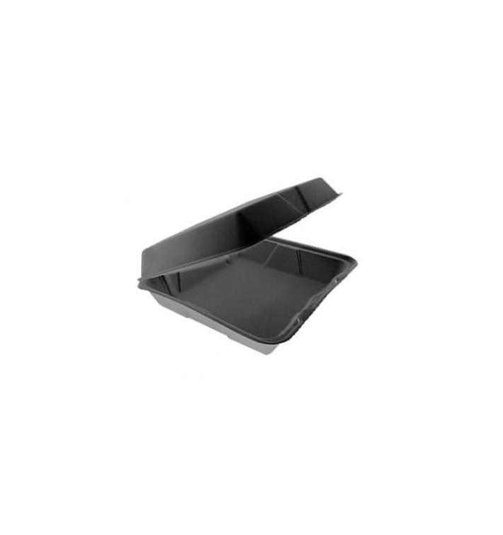Envase Foam MenuBox Divisible Negro 240x235mm (100 Uds)