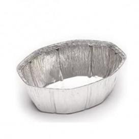 Envases Aluminio Ovalado para Pollo 2400ml (Caja 500Uds)