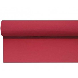 Mantel Camino Airlaid Rojo 0,4x48m Precorte 1,2m (1 Ud)