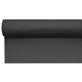 Mantel Camino Airlaid Negro 0,4x48m Precorte 1,2m (6 Uds)