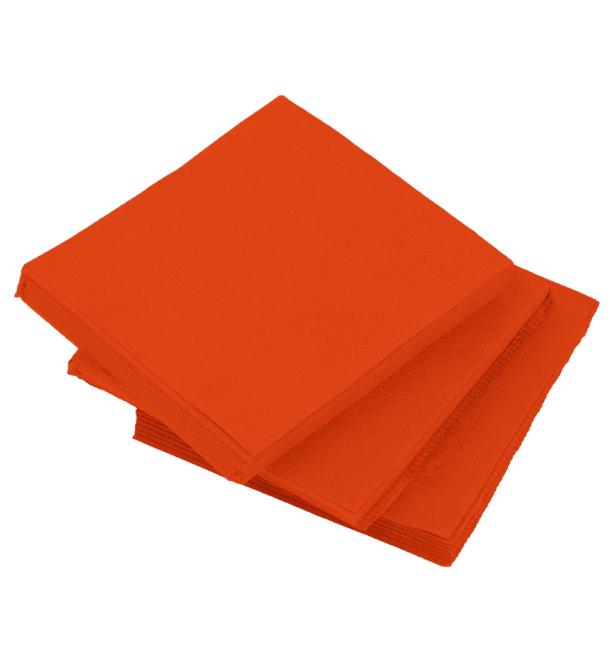 Servilleta de Papel Cocktail Roja 20x20cm (100 Uds)