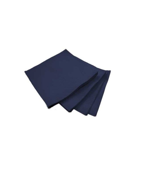 Servilleta de Papel Cocktail Azul 20x20cm (2400 Uds)