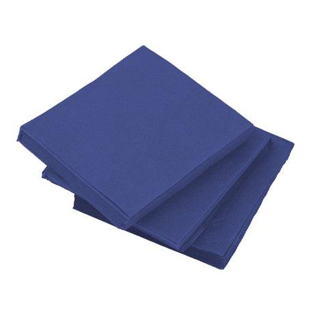 Servilleta de Papel Micropunto 20x20cm 2C Azul (2.400 Uds)