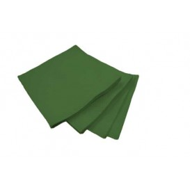 Servilleta de Papel Cocktail Verde 20x20cm (100 Uds)