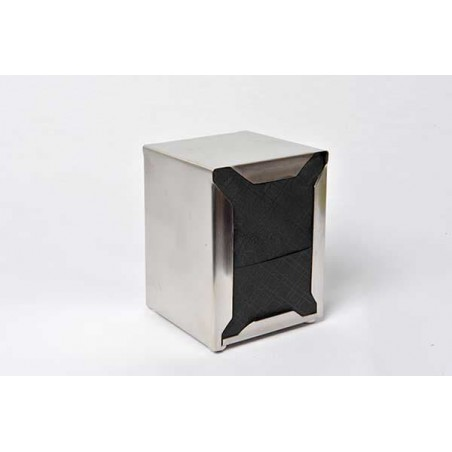 Servilletas de Papel Miniservis Negro 17x17cm (80 Uds)