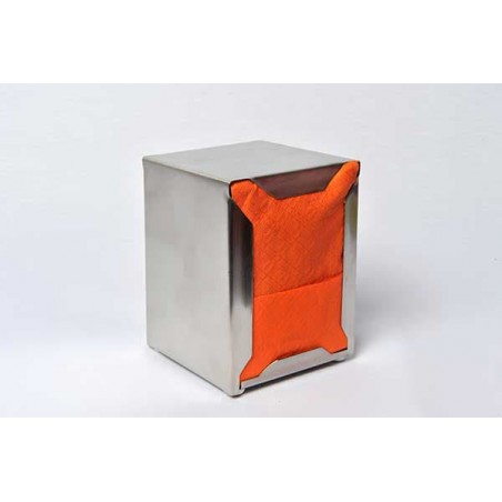 Servilletas de Papel Miniservis Naranja 17x17cm (80 Uds)