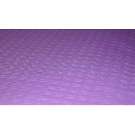 Mantel de Papel Rollo Lila 1x100m. 40g (6 Uds)