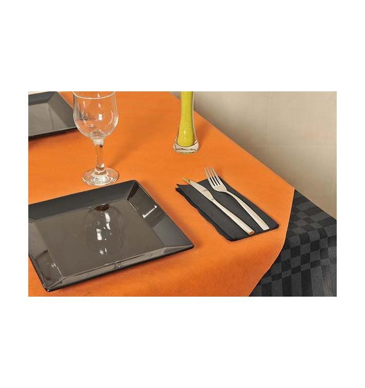 Mantel Novotex No Tejido Naranja 120x120cm (150 Uds)