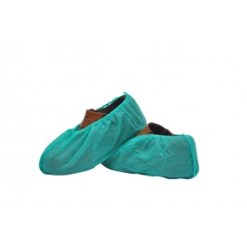 Cubrezapatos en Polipropileno Verde (1000 Uds)