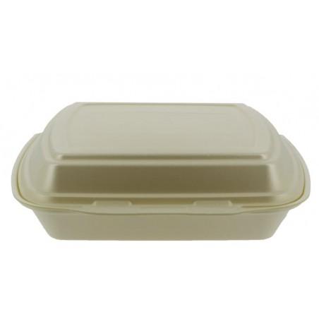 Envase Foam MenuBox 3 C. Champagne 240x210x70mm (125 Uds)