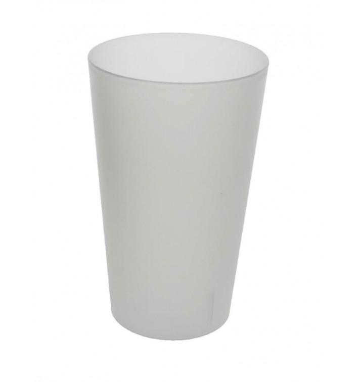 Vaso Reutilizable de Plástico PP Translúcido 330ml (560 Uds)