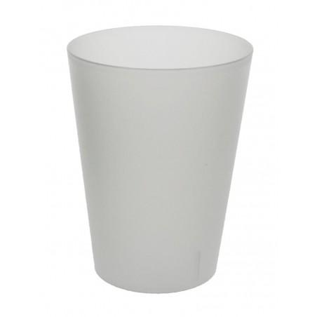 Vaso Reutilizable Ecológico Sidra 500ml PP (24 Uds)