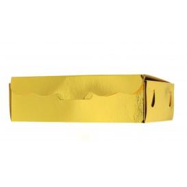 Caja para Dulces y Bombones Oro 17x10x4,2cm 500g (50 Uds)