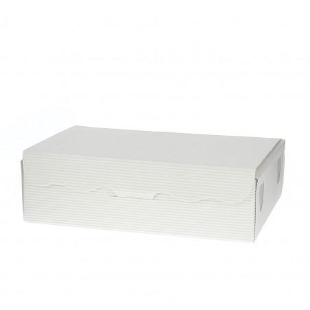Caja para Dulces y Bombones Blanca 11x6,5x2,5cm 100g (50 Uds)