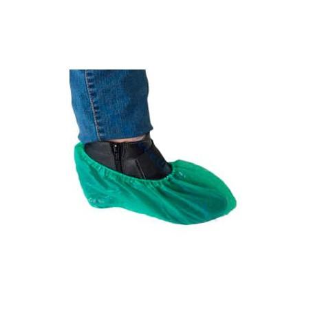 Cubrezapatos en Polietileno CPE G160 Verde (1000 Uds)