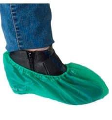 Cubrezapatos en Polietileno G80 Verde (100 Uds)