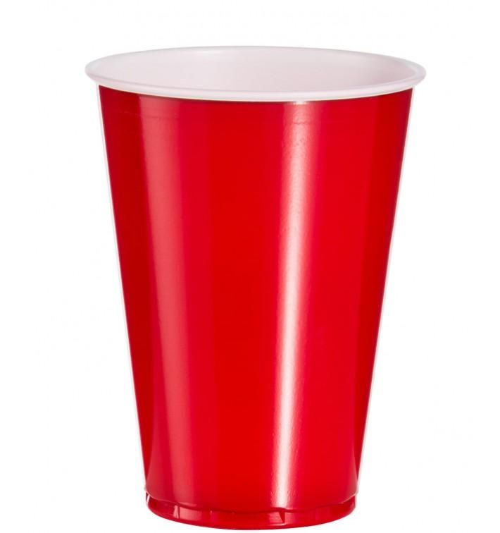 Vaso Rojo Americano para Fiestas 10 Oz/300ml (100 Uds)