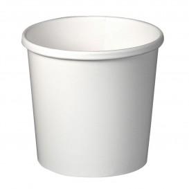 Tarrina de Cartón Blanca para Sopa 12 Oz (25 Uds)
