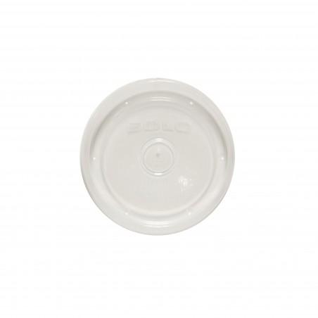 Tapa de Plástico PP para Tarrina de 8 y12 Oz (500 Uds)