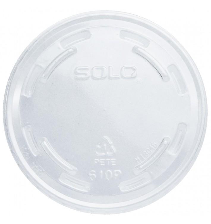 Tapa Cerrada Para Vaso PET Solo Ultra Clear 9Oz Alto y 10Oz (100 Uds)