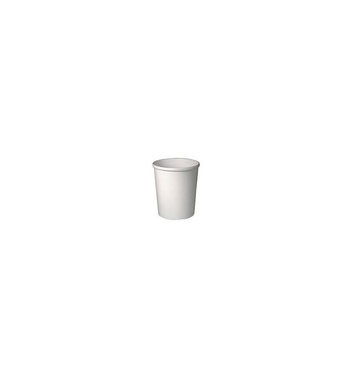 Tarrina de Cartón Blanca para Sopa 32 Oz (500 Uds)