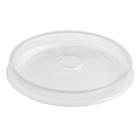 Tapa de Plástico PP para Tarrina de 8 y12 Oz (50 Uds)