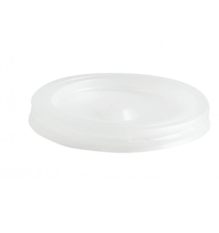 Tapa de Plastico PS Vaso 80ml Ø5,7cm (100 Uds)